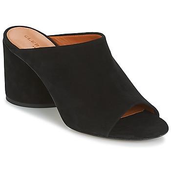 Schoenen Dames Leren slippers Robert Clergerie OUTERKOLA Zwart