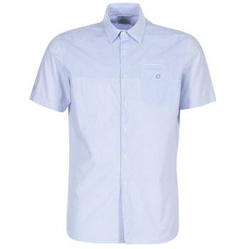 Textiel Heren Overhemden korte mouwen Oxbow K1CAMINO Blauw / Ciel