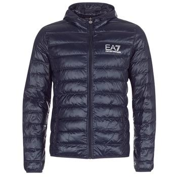 Textiel Heren Dons gevoerde jassen Emporio Armani EA7 CORE ID 8NPB02 Marine