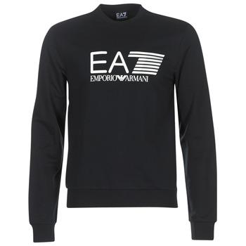 Textiel Heren Sweaters / Sweatshirts Emporio Armani EA7 TRAIN VISIBILITY Zwart