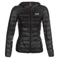 Textiel Dames Dons gevoerde jassen Emporio Armani EA7 TRAIN CORE LADY Zwart