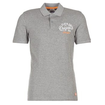 Textiel Heren Polo's korte mouwen Jack & Jones JORTRAST Grijs