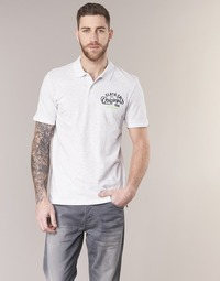 Textiel Heren Polo's korte mouwen Jack & Jones JORTRAST Wit