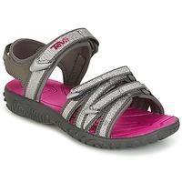 Schoenen Meisjes Sandalen / Open schoenen Teva TIRRA Zilver / Magenta
