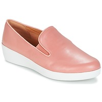 Schoenen Dames Instappers FitFlop SUPERSKATE Roze