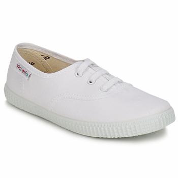 Schoenen Kinderen Lage sneakers Victoria INGLESA LONA KID Wit