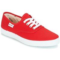 Schoenen Lage sneakers Victoria INGLESA LONA Rood