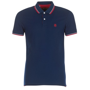Textiel Heren Polo's korte mouwen Selected SLHNEWSEASON Marine
