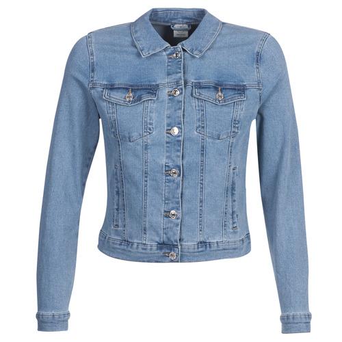 Textiel Dames Spijker jassen Vero Moda VMHOT SOYA Blauw