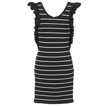 Textiel Dames Korte jurken Vero Moda VMABHY Zwart / Wit