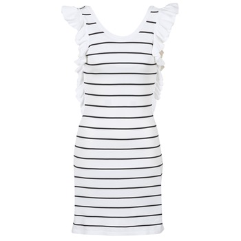 Textiel Dames Korte jurken Vero Moda VMABHY Wit / Zwart