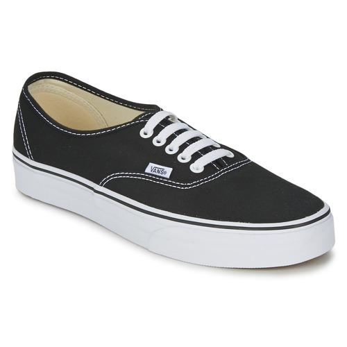 Schoenen Lage sneakers Vans AUTHENTIC Zwart
