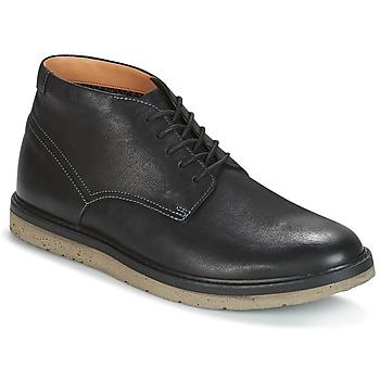 Schoenen Heren Laarzen Clarks BONNINGTON TOP  zwart / Leather