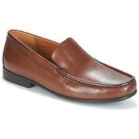 Schoenen Heren Mocassins Clarks CLAUDE PLAIN Bruin / Leather