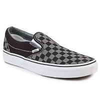 Schoenen Instappers Vans CLASSIC SLIP-ON Zwart / Grijs