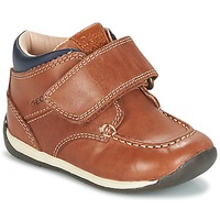 Schoenen Jongens Lage sneakers Geox B EACH BOY Brown