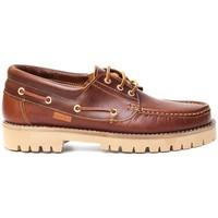Schoenen Heren Bootschoenen Colour Feet NAUTIC Brown