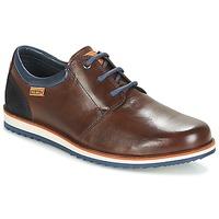Schoenen Heren Derby Pikolinos BIARRITZ M5A Brown / Blauw