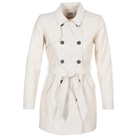 Textiel Dames Trenchcoats Only LUCY Beige
