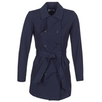 Textiel Dames Trenchcoats Only LUCY Marine