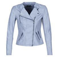 Textiel Dames Leren jas / kunstleren jas Only AVA Blauw