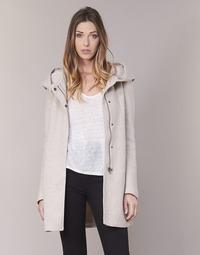 Textiel Dames Mantel jassen Only SEDONA Beige