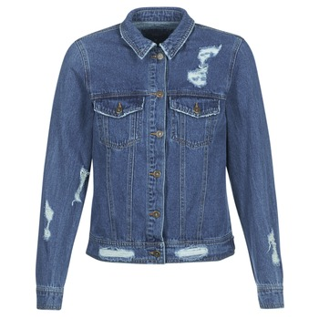 Textiel Dames Spijker jassen Only BECKY Blauw / Medium