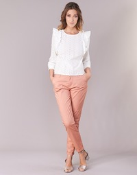 Textiel Dames Chino's Only PARIS Roze