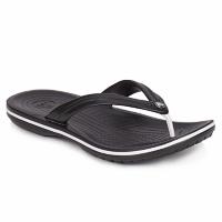 Schoenen Slippers Crocs CROCBAND FLIP Zwart