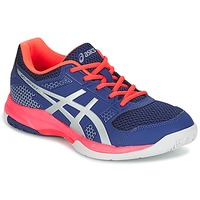 Schoenen Dames Indoor Asics GEL-ROCKET 8 Blauw / Roze / Orange