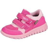 Schoenen Kinderen Lage sneakers Superfit Sport Mini Pink Kombi Velour Tecno Textil Rose