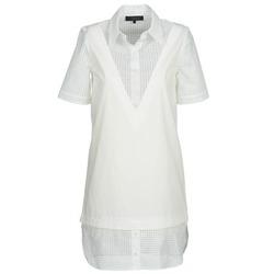 Textiel Dames Korte jurken American Retro CHARLOTTE Wit