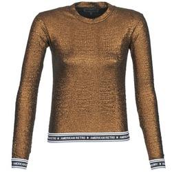 Textiel Dames T-shirts met lange mouwen American Retro ALLAN Mordore