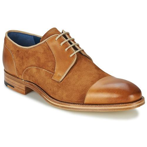 Schoenen Heren Derby Barker BUTLER Brown