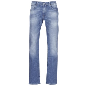 Textiel Heren Bootcut jeans Casual Attitude IGERAL Blauw / Clair