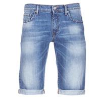 Textiel Heren Korte broeken / Bermuda's Yurban IXOLAK Blauw / Clair