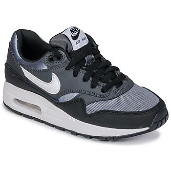 Schoenen Jongens Lage sneakers Nike AIR MAX 1 GRADE SCHOOL Zwart