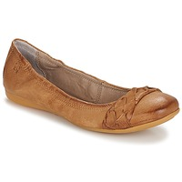 Schoenen Dames Ballerina's Dream in Green CICALO TAN