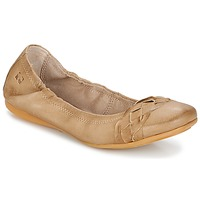 Schoenen Dames Ballerina's Dream in Green TAVERNI Beige