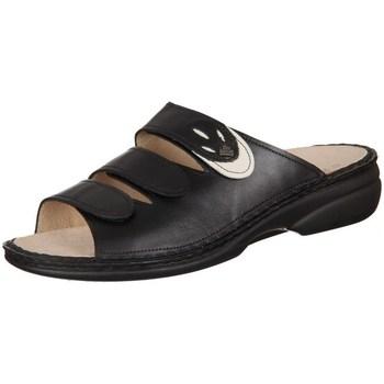 Schoenen Dames Leren slippers Finn Comfort Kos Noir