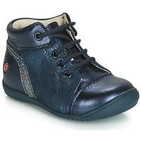 Schoenen Meisjes Hoge sneakers GBB ROSEMARIE Vtc / Marine / Dpf / Kezia