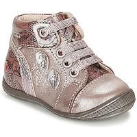 Schoenen Meisjes Hoge sneakers GBB ROSEMARIE Roze
