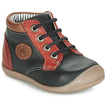 Schoenen Jongens Hoge sneakers Catimini RAYMOND Vtu / Zwart-rood / Dpf / Kimbo