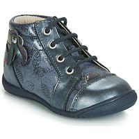 Schoenen Meisjes Hoge sneakers GBB NICOLE Vtv / Blauw / Gris-impr / Dpf / Kezia
