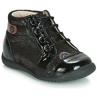 Schoenen Meisjes Hoge sneakers GBB NICOLE Vtv / Noir-disco / Dpf / Kezia