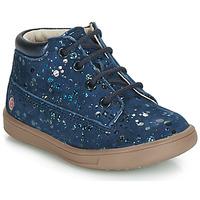 Schoenen Meisjes Hoge sneakers GBB NINON Marine