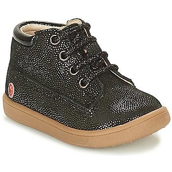 Schoenen Meisjes Hoge sneakers GBB NINON Zwart / Pailleté