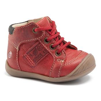 Schoenen Jongens Hoge sneakers GBB RACINE Vte / Brique / Dpf / Raiza