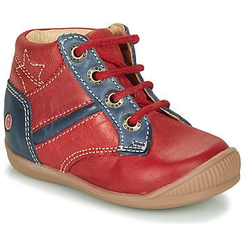 Schoenen Jongens Hoge sneakers GBB RATON Vte / Brique-marine / Dpf / Raiza