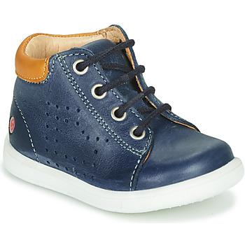 Schoenen Jongens Hoge sneakers GBB NERISSON Vte / Marine / Dpf / Messi